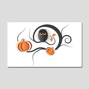 Whimsical Halloween Car Magnet 20 x 12