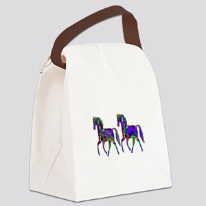 TWO STEPPERS Canvas Lunch Bag