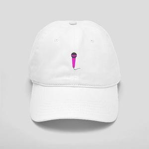 Hot Pink Microphone Cap