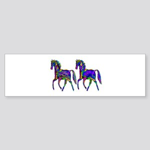 TWO STEPPERS Bumper Sticker