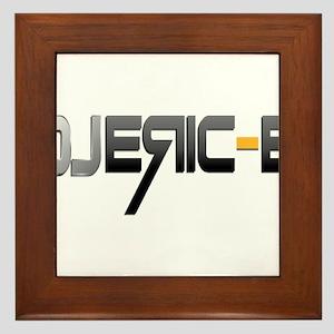 DJ Logo Framed Tile
