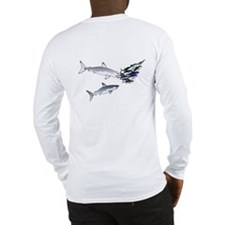 Two White Sharks ambush Tuna CFLong Sleeve T-Shirt