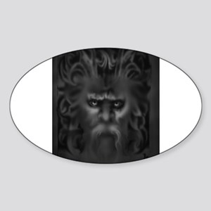 the gatekeeper Sticker (Oval)