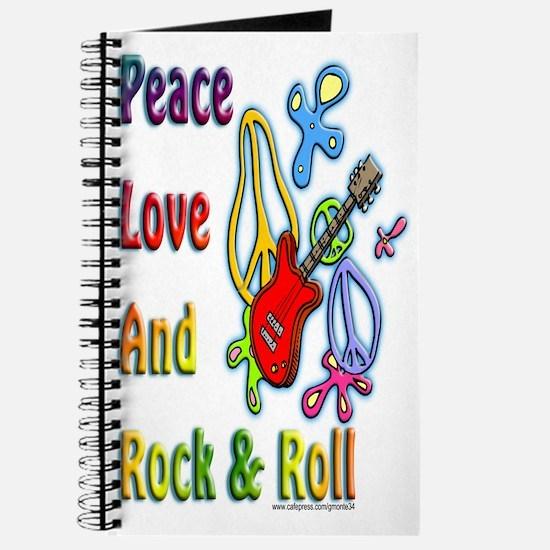 Peace Love & Rock n Roll Journal