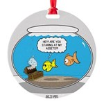 Fishbowl Assets Round Ornament