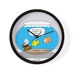 Fishbowl Assets Wall Clock
