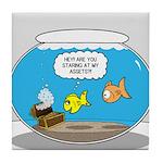 Fishbowl Assets Tile Coaster