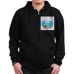 Fishbowl Assets Zip Hoodie (dark)