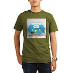 Fishbowl Assets Organic Men's T-Shirt (dark)