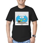 Fishbowl Assets Men's Fitted T-Shirt (dark)