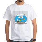 Fishbowl Assets White T-Shirt