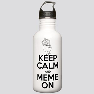 Keep Calm and Meme On Stainless Water Bottle 1.0L