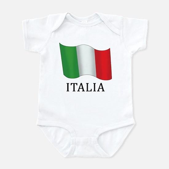 Italia Flag Infant Bodysuit