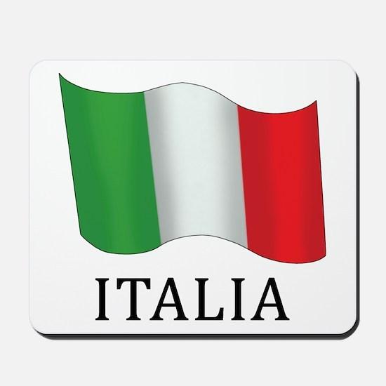 Italia Flag Mousepad