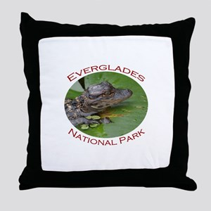 Everglades National Park...Baby Alligator Throw Pi
