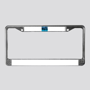 Ghost of Indian Chief License Plate Frame