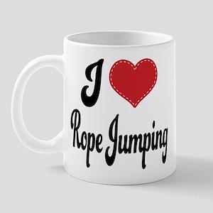 I Love Rope Jumping Mug