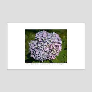 Purple Hydrangea 35x21 Wall Decal