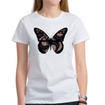 Peach Butterfly Women's T-Shirt