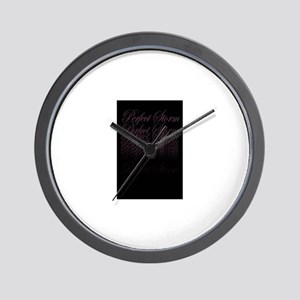 Perfect Storm Wall Clock