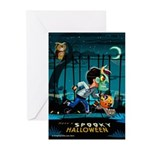 Spooky Halloween Greeting Cards (Pk of 10)
