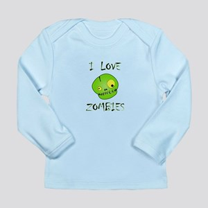 Love Zombies Long Sleeve Infant T-Shirt