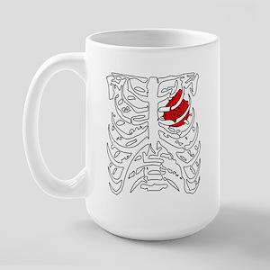 Boosted Heart Large Mug