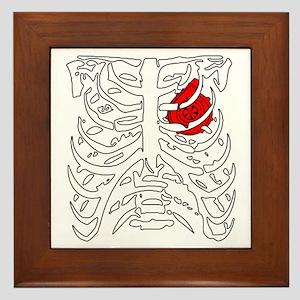 Boosted Heart Framed Tile