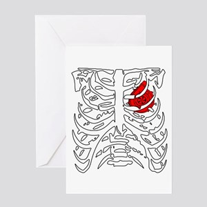 Boosted Heart Greeting Card