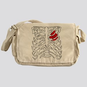 Boosted Heart Messenger Bag