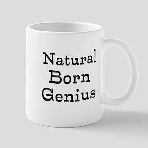 Natural Born Genius Mug