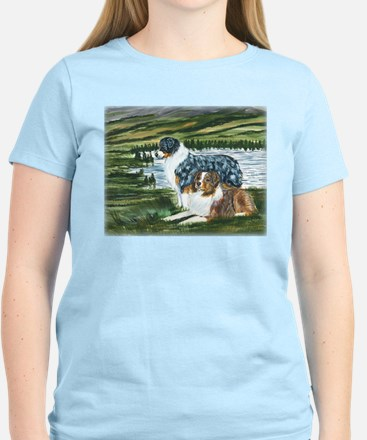 Austrailian Shepherd Blue and T-Shirt