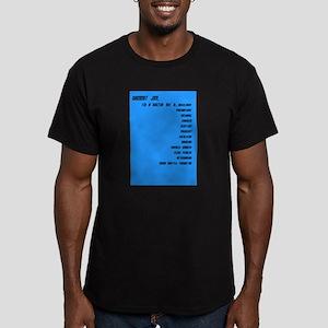 I'm a Doctor, not a ..... Men's Fitted T-Shirt (da