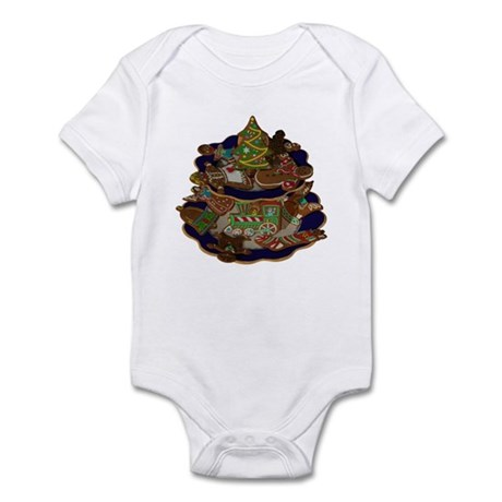 Decorated Christmas Cookies Infant Bodysuit