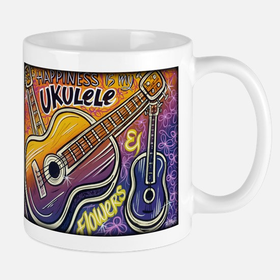 Happiness is My Ukulele Mug
