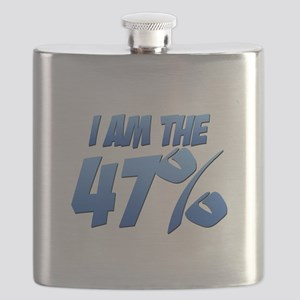 I Am the 47% Flask