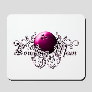 Bowling Mom (pink ball) Mousepad