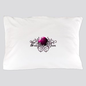Bowling Mom (pink ball) Pillow Case