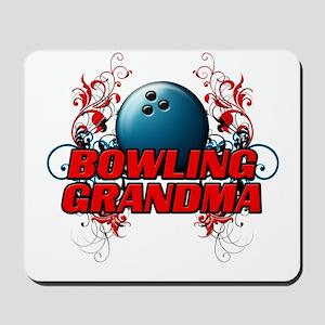 Bowling Grandma (cross) Mousepad