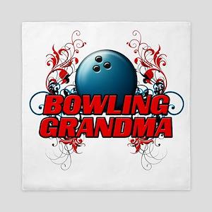 Bowling Grandma (cross) Queen Duvet