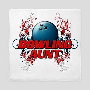 Bowling Aunt (cross) Queen Duvet