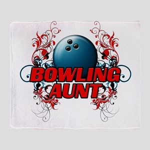 Bowling Aunt (cross) Throw Blanket