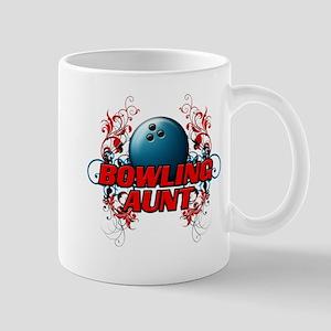 Bowling Aunt (cross) Mug