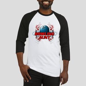 Bowling Aunt (cross) Baseball Jersey