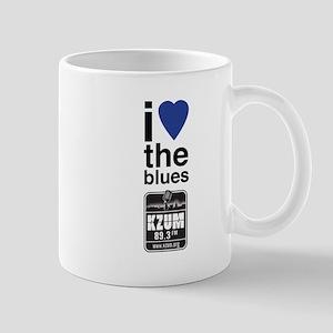 I Heart the Blues/KZUM2 Mug