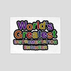 World's Greatest INSTRUMENTATION ENGINEER 5'x7' Ar
