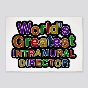 World's Greatest INTRAMURAL DIRECTOR 5'x7' Area Ru
