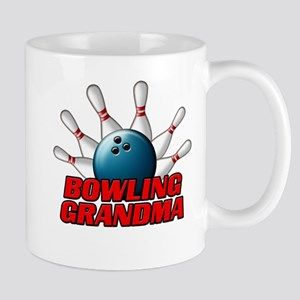 Bowling Grandma (pins) Mug