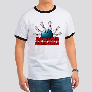 Bowling Grandma (pins) Ringer T