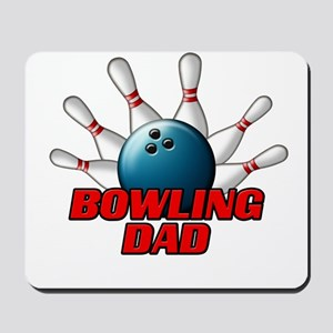 Bowling Dad (pins) Mousepad